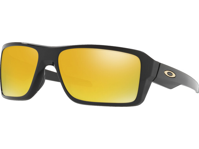 Oakley Double Edge Polished Black/24K Iridium